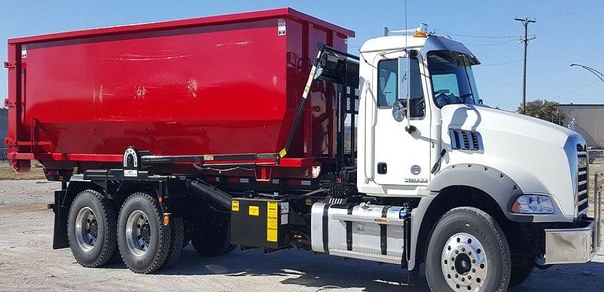 OKC dumpster truck